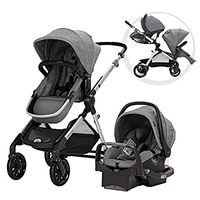 Evenflo Pivot Xpand Modular Travel System with SafeMax Infant Car Seat by Evenflo