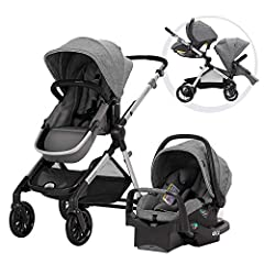 Multipurpose Double Stroller: The Evenflo Pivot Xpand Modular Travel System is a Parent-Friendly Single-To-Double Stroller Designed With a Unique Slide-And-Lock System That Expands the Frame to Accommodate a Second Toddler or Infant Seat. Includes St...
