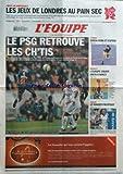 EQUIPE (L') [No 19854] du 13/11/2008 - foot , le psg retrouve les ch'tis rugby , le danger pacifique basket , l'europe sourit enfin a nancy tennis , simon perd et espere jeux olympiques , les jeux de londres au pain sec