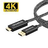 Veelink DisplayPort zu HDMI-Kabel 1.8M 4K @ 60Hz UHD DP