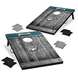 Wild Sports 2'x3' MDF Wood NFL Philadelphia Eagles Cornhole Set - Grey Wood Design