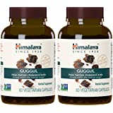 Himalaya Guggul, High Cholesterol Lowering Products, Equivalent to 4,698mg of Guggul Powder for Healthy Cholesterol and Triglyceride Levels, 60 Capsules, 750 mg (2 PACK)