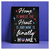 Finally Home Party Sign, Homecoming Party Sign, Welcome Home Sign, Military Welcome Home Sign, Finally Home Sign, Welcome To Sign, Handmade Party Supply Poster Print Size - 24x36