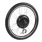 Bici Elettrica Kit di Conversione Kit Motore Ebike, Bike Electric Bike 36V 500W Motor Kit di Conversione del Motore Ruota 26in con Metro