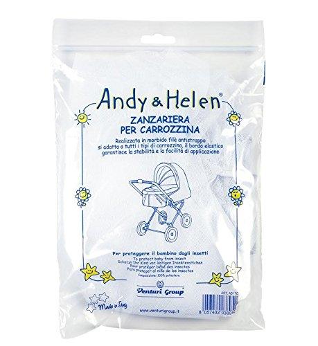 ANDY & HELEN A017C Zanzariera per Culla, Bianco