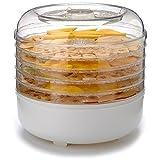 Cooks Club USA FD550WH 125W Food Dehydrator, Mini, White