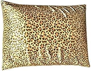 Luxury Satin Pillowcase for Hair – Queen Satin Pillowcase with Zipper, Leopard Print (1 per Pack) – Blissford