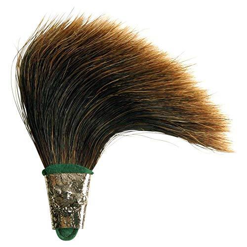 Saubart mit Hülse (Försterstutzen) - in Handarbeit gefertigt für Ihren Hut