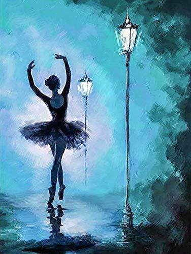 CYSGJ Puzzle para Adultos, 1000 Piezas De Rompecabezas De Dibujos Animados Puzzle De Madera,Bailarina De Ballet, Dificultad Familiar para Aprender A Armar Juguetes