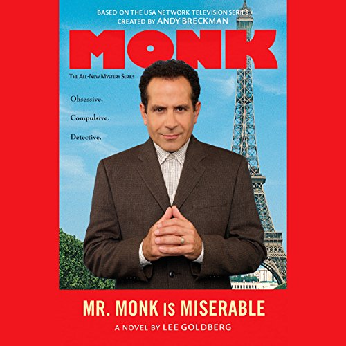 Mr. Monk is Miserable audiobook cover art