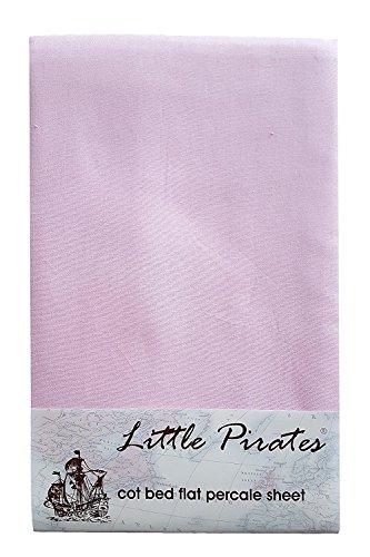 2/x B/éb/é Landau//berceau//couffin Drap Plat Rose de Luxe 100/% coton bross/é