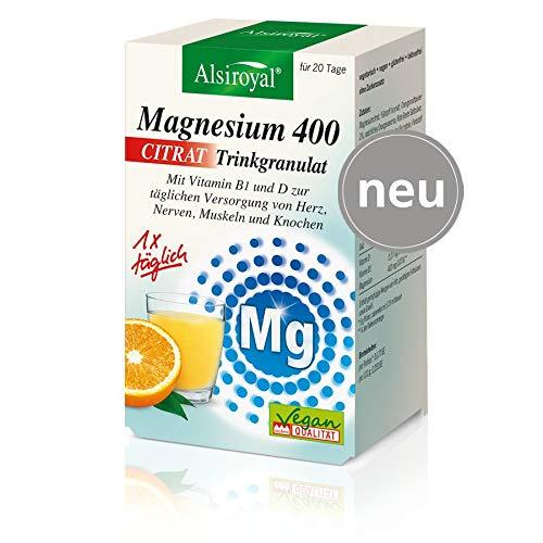 Alsiroyal® Magnesium 400 Citrat Trinkgranulat (20 g)