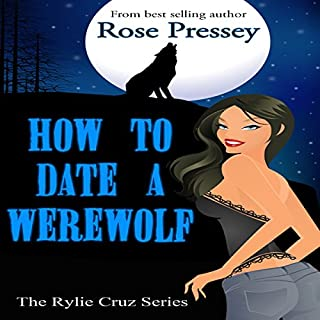 How to Date a Werewolf audiobook cover art