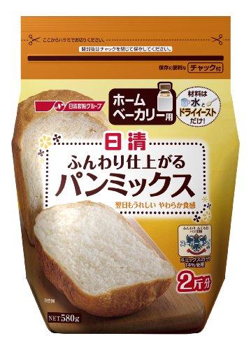 日清フーズ『ホームベーカリー用 ふんわり仕上がるパンミックス』