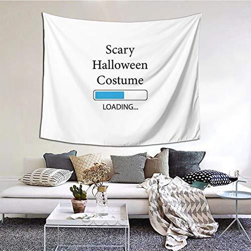 Baulred Tapiz para colgar en la pared de Halloween Truly Disfraz Tapiz Decoracin del hogar en 152 cm x 129 cm pulgadas para sala de estar