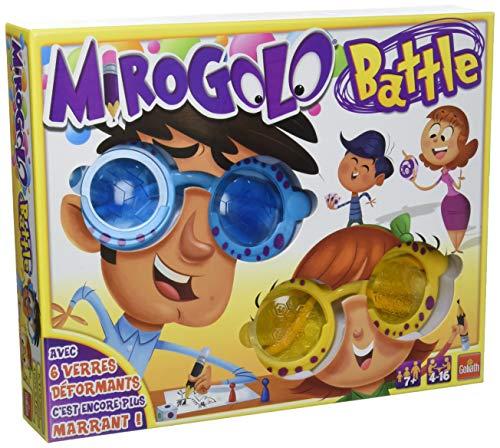 Goliath - Mirogolo Battle - Jeu d'enfants - à partir de 7 ans- Jeu de société - Jeu de dessin