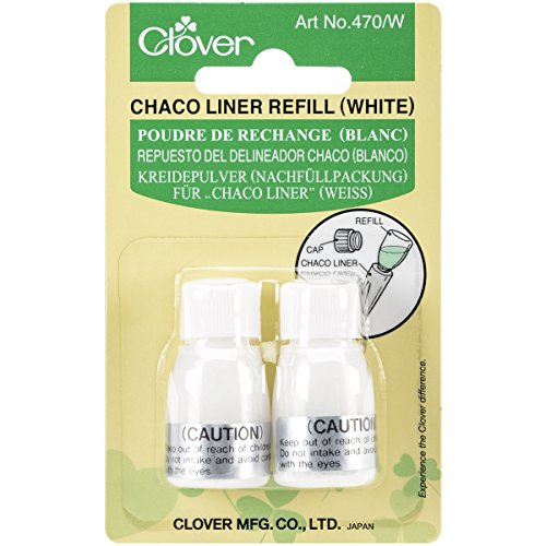 CLOVER 470/W Refill Chaco Liner, White