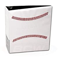6 White Baseball Card Collector's Albums plus 200 PRO9T 9 Pocket Pages