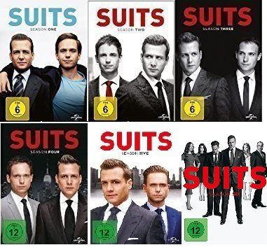 Suits - Season 1-6 im Set - Deutsche Originalware [23 DVDs]