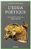 L'Edda poétique by Régis Boyer(1992-01-15) - Fayard - 01/01/1992