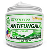 Antifungal Cream - Natural Hair, Skin & Nail - All in One, Intensive Head to Toe Treatment - Extra Strength Antimicrobial (Anti-Bacterial, Anti-Inflammatory, Anti-Viral & Anti-fungal)