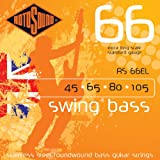 Rotosound Stainless Steel Standard Gauge Extra Long Scale Roundwound Bass Strings (45 65 80 105)