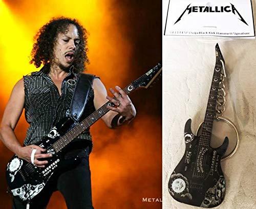 Schlüsselanhänger Gitarre Esp Ouija Black K. Hammett Metallica