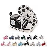 Bebé Niña Primeros Pasos Zapatos, 0-18 Meses Niños Infante Zapatos de Lona...