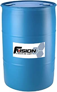 Fusion 2330 Liquid Ice and Snow Melter. Environmentally Friendly Ice Melt, Pet Safe and Sugar Beet Juice Based 200 Litre Drum (53 gallons)