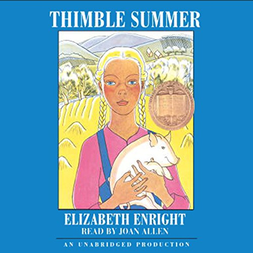 Thimble Summer  audiobook cover art