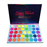 39 Shades Matte Shimmer Metallic Eye Shadow Pallet Long Lasting Bright Colorful Rainbow Eyeshadow Palette Color Fusion Highly Pigment Makeup Pallet