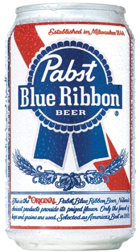 Pabst Blue Ribbon 12oz (355mL can) - 12 Pack