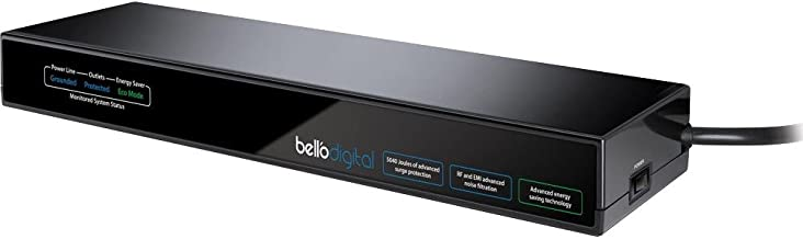 Bell'O International Corp. ASG4008 8 Outlet Green Energy Saving Shelf Surge Protector