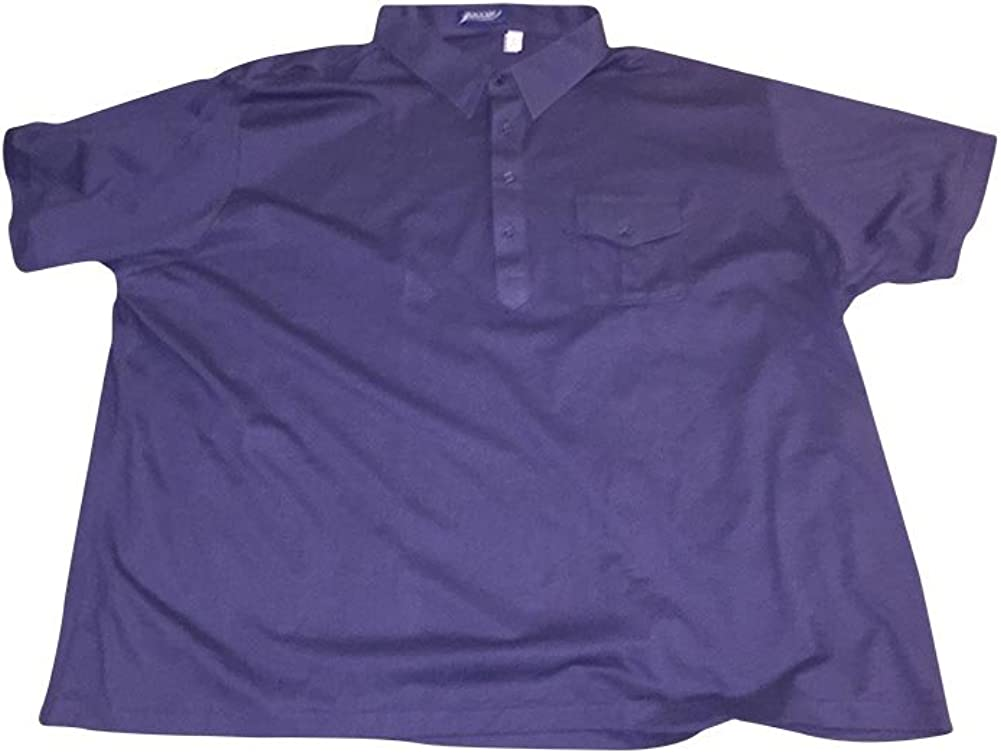 6X Big and Tall Super Lightweight Navy Polo Shirts 6XB