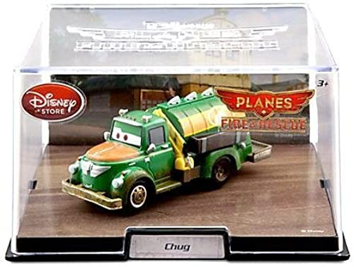 Disney - Planes Fire and Rescue CHUG - 1 43 scale and in display case by Disney Fire Rescue