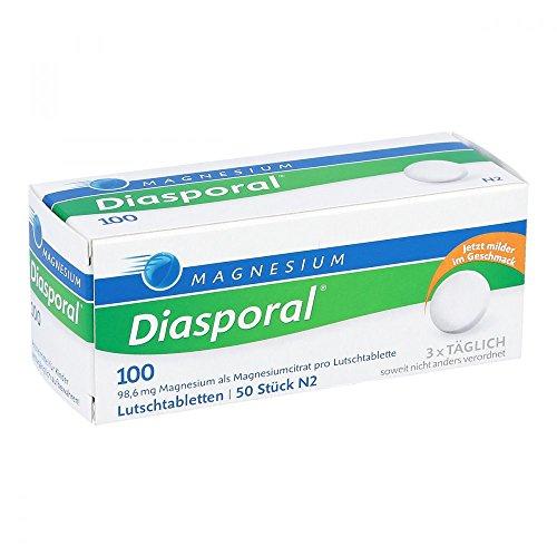 Magnesium-Diasporal 100, 50 St. Lutschtabletten