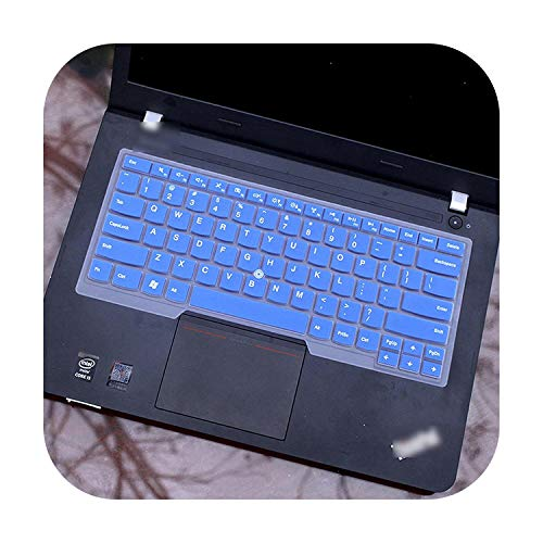 Silicone Keyboard Cover Protector For Lenovo Thinkpad p1 X1 Extreme L460 L470 T460 T460p T460s T470 T470p T470s T480 T480S-blue-