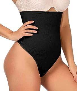 ShaperQueen 102 Thong Shaper (Open Crotch) Womens High-Waist Cincher Trainer Girdle Faja Tummy Control Underwear Shapewear