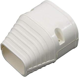 Kit de cubierta de línea decorativa de PVC Ranura de tubería para aire acondicionado central, unidades de aire acondicionado mini split y sistema de bomba de calor, unidad de condensador