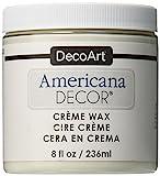 Deco Art Americana Decor Crema Cera 8oz-Clear