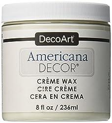 top 10 wax for furniture Deco Art Americana Decoration Cream Wax, 8 oz, Clear