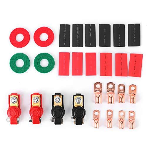 Kit de abrazadera de batería: abrazaderas de terminal de batería universal, terminales...