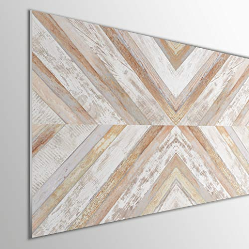MEGADECOR DECORATE YOUR HOME Cabecero Cama PVC 5mm Decorativo Económico. Modelo - Arrowtown (200x60cm, Modelo 4)