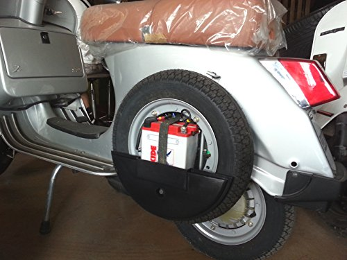 copriruota di scorta protezione cover LML star/Vespa PX 125/150/151/200 cc