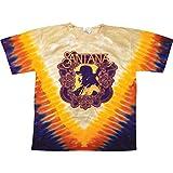 Santana Men's All is One Tie Dye T-Shirt Medium Multi