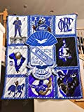 PHI BETA Sigma Quilt, Blanket - Unique 3D Design, Suitable for All Seasons with Mellow Cotton Material Comfortable and Luxurious.