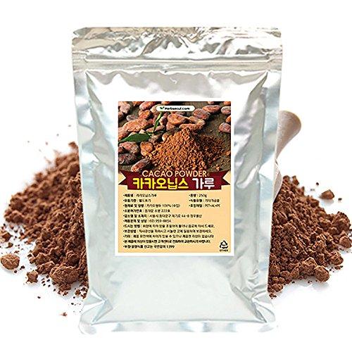 [Jeongwoodang]Kakao Nibs Powder 35.3oz/200 Times Higher Catechin Than Green Tea/Diet/Super Food