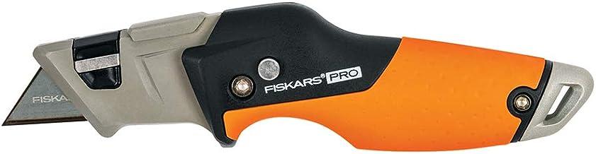 Fiskars 770030-1001 Pro faca utilitária, dobrável, laranja/preta