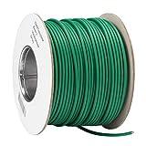 ECENCE Cable delimitador compatible con todos los robots cortadores comunes 250 m de largo demarcación de la superficie de corte en jardines, con ayuda de colocación cable delimitador