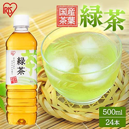 アイリスオーヤマ アイリス緑茶 お茶 500ml ×24本